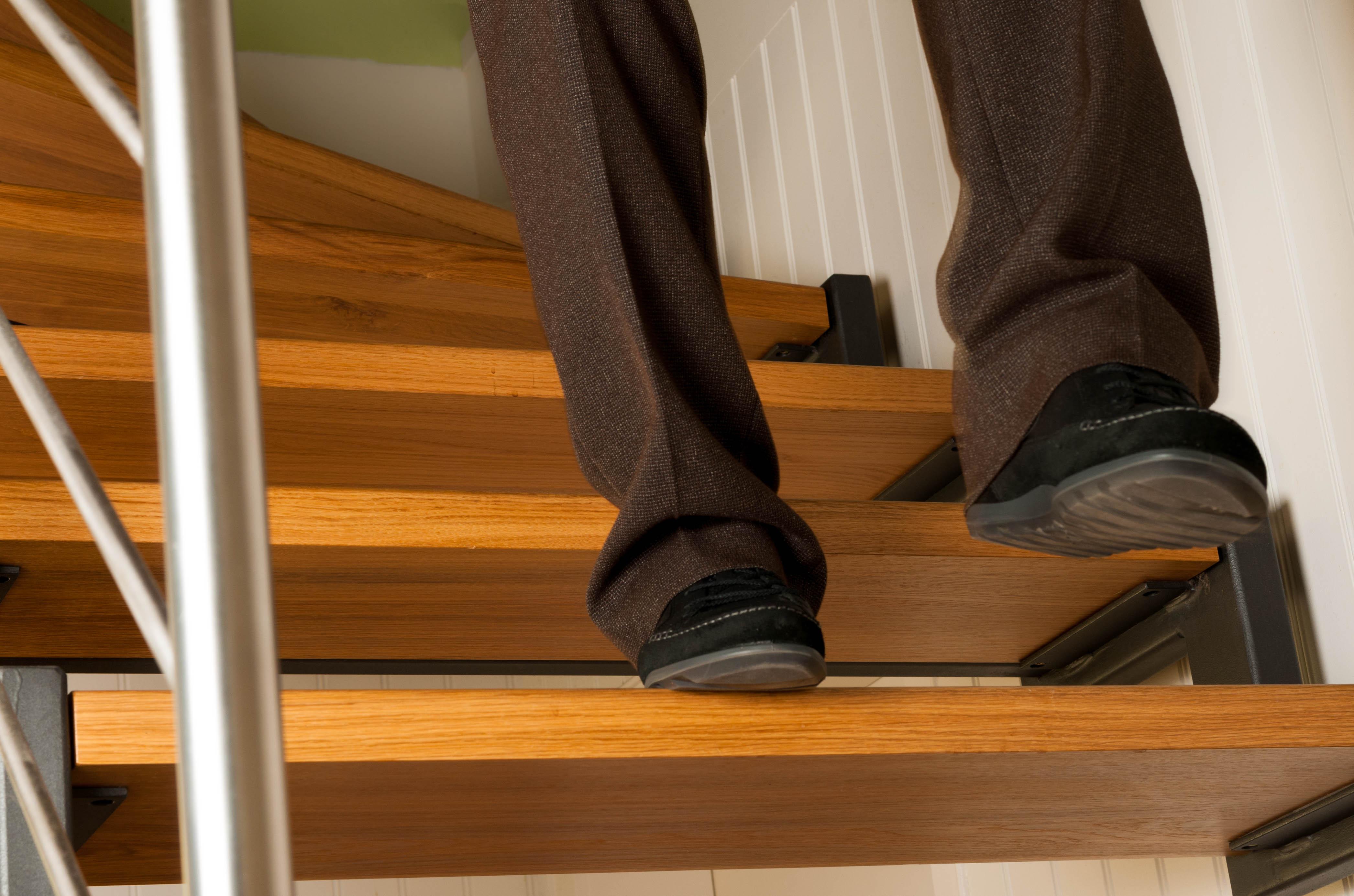 Treppe runtergehen