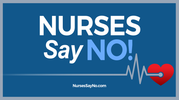 nurses say no square