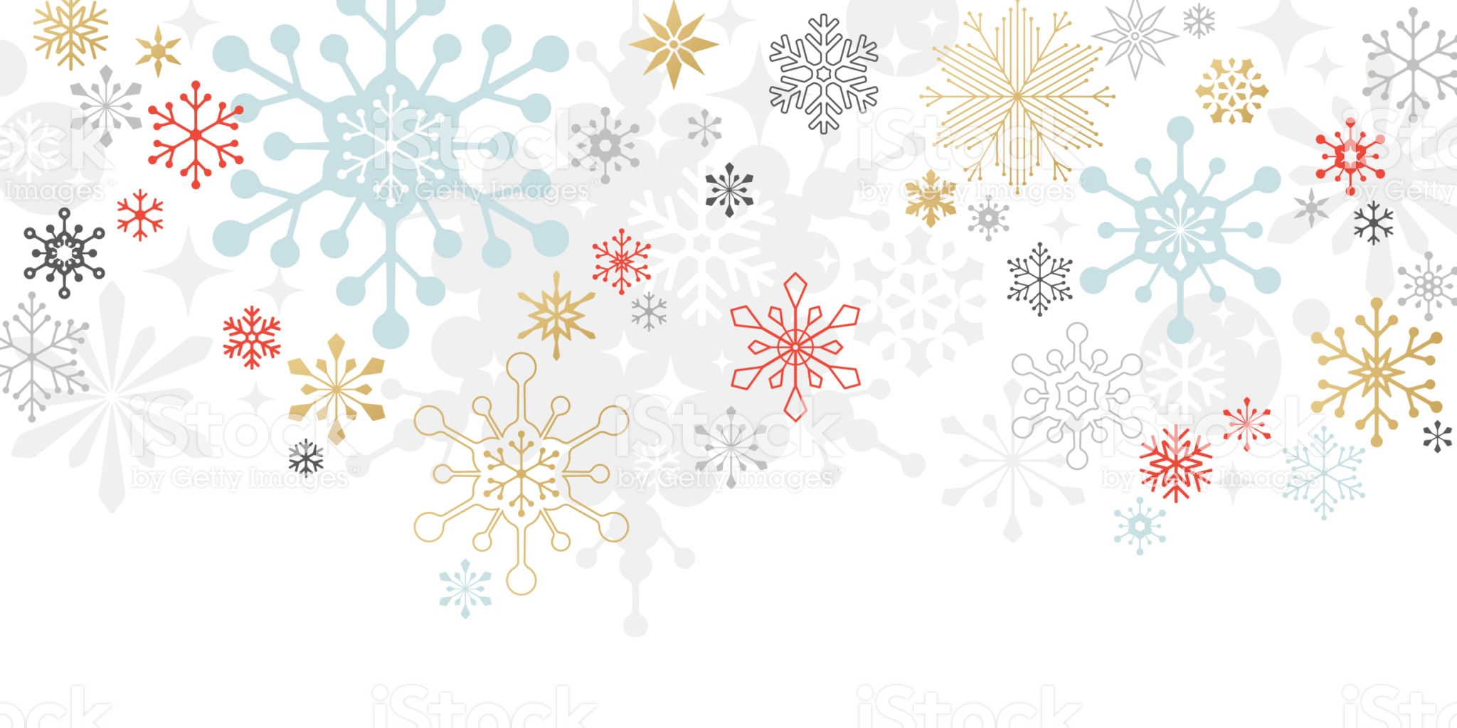 Graphic snowflakes on white background. Christmas, holidaycard.